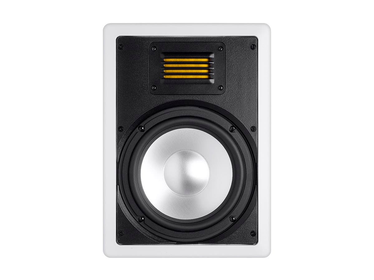 Monoprice Amber In Wall Speaker 8in 2 Way With Ribbon Tweeter