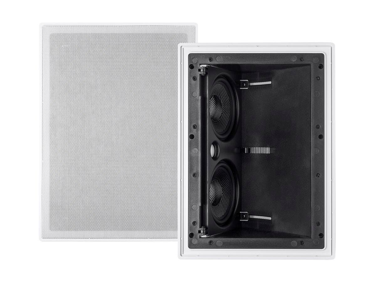 Monoprice Alpha Ceiling Speaker Dual 5.25in Carbon Fiber Surround 2-way Vari-Angled (single)-Large-Image-1