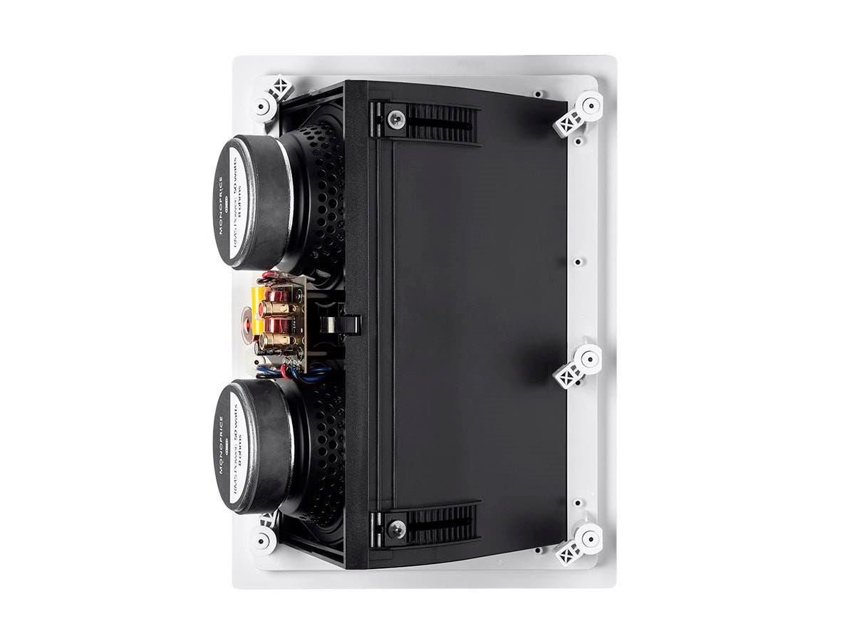Monoprice Alpha Ceiling Speaker Dual 5 25in Carbon Fiber