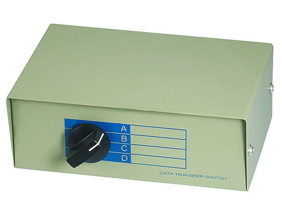 Monoprice RJ45 ABCD 4Way, Switch Box-Large-Image-1