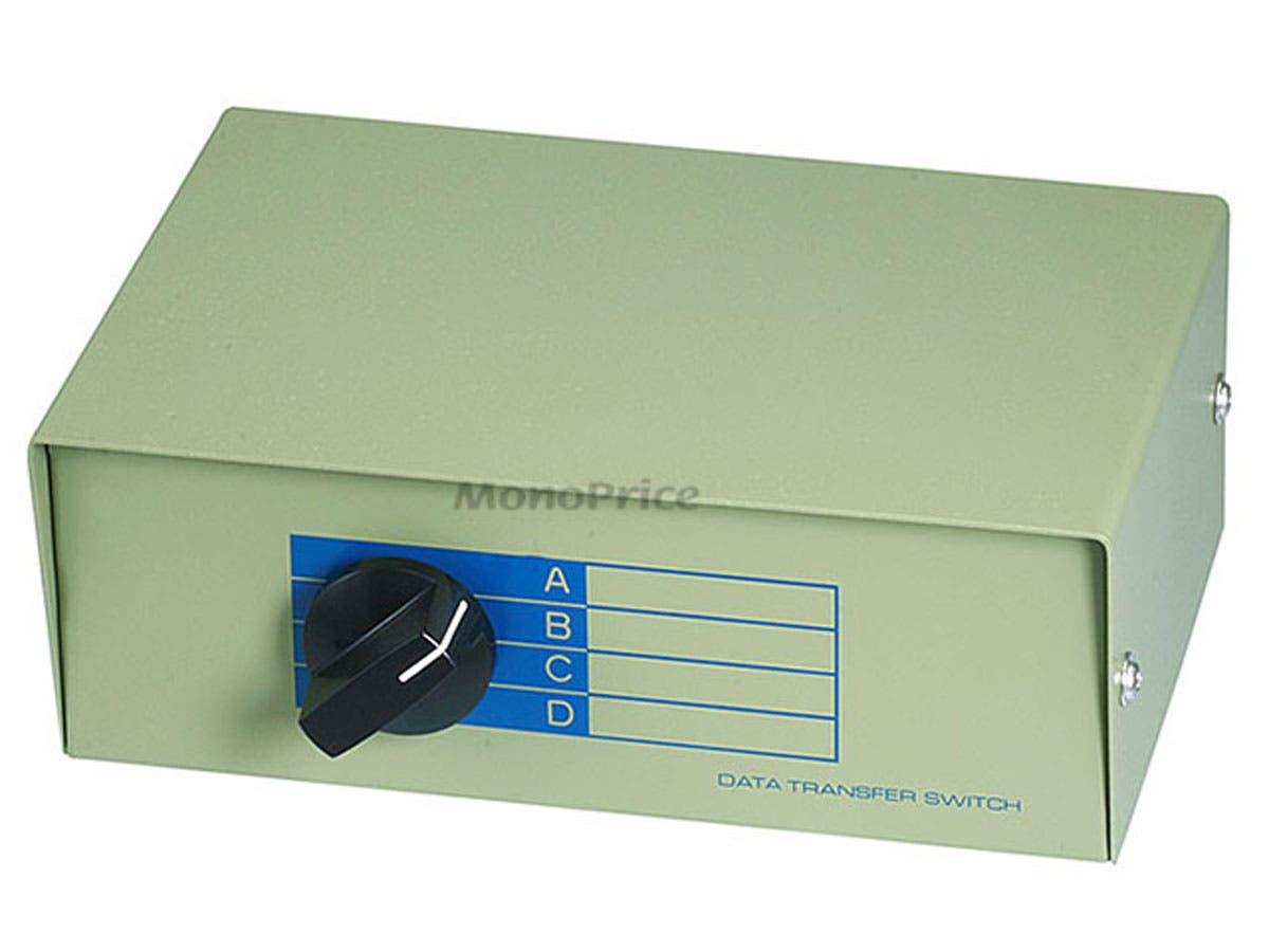Monoprice BNC ABCD 4 Position Switch Box-Large-Image-1