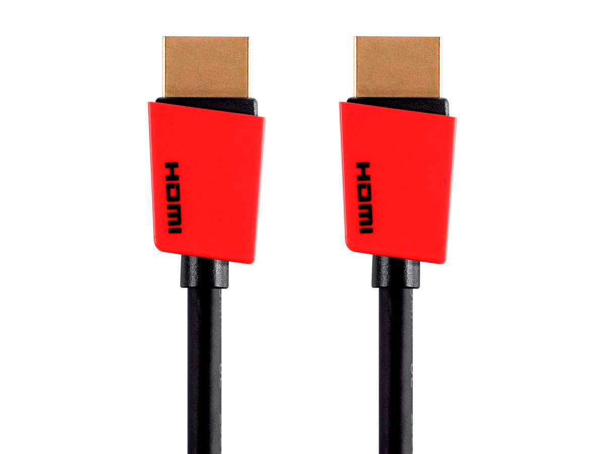 Palette Series High Speed HDMI Cable, 6ft, Red