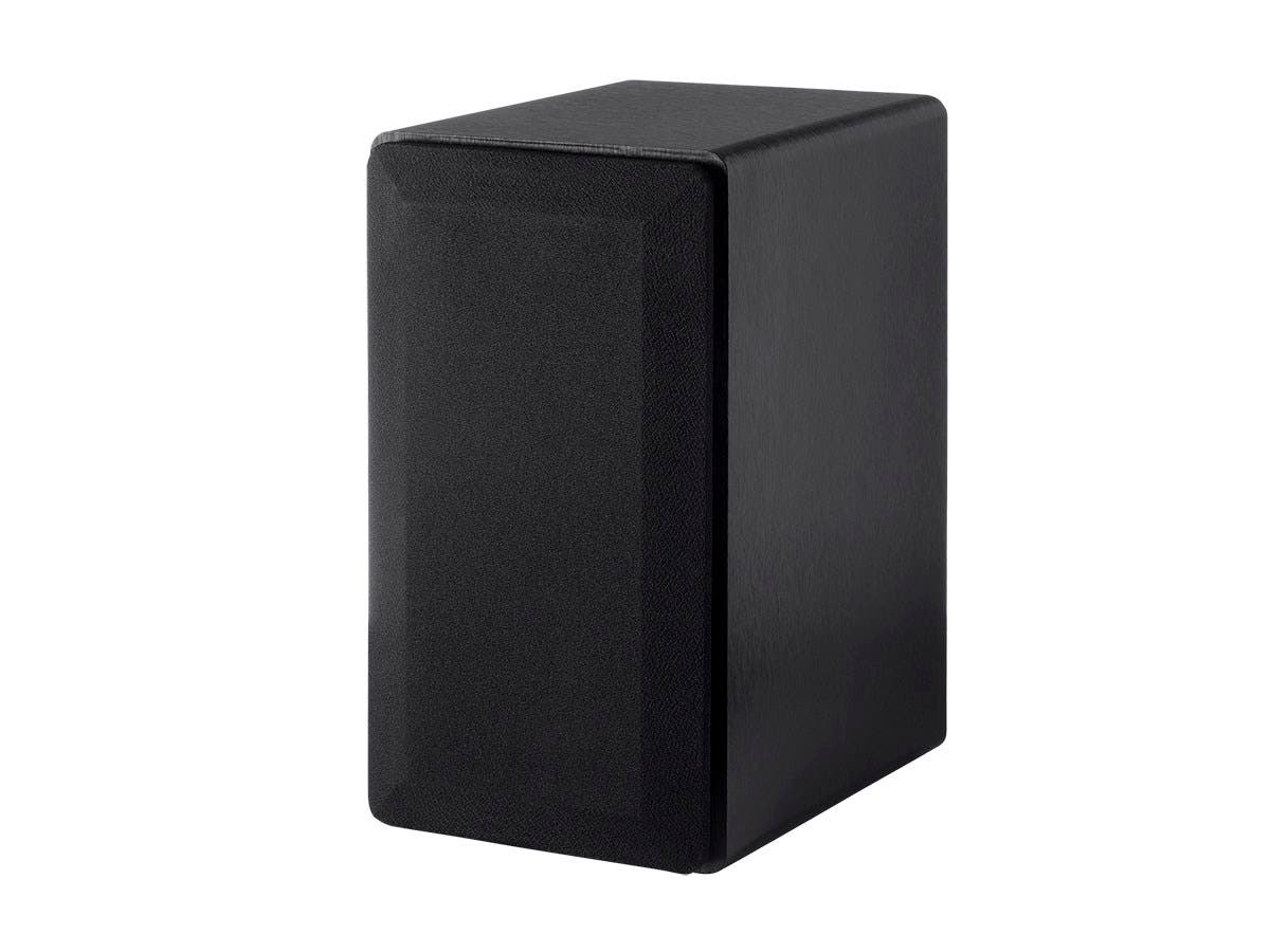 Select 4-Inch 2-Way Bookshelf Speakers (Pair), Black Finish