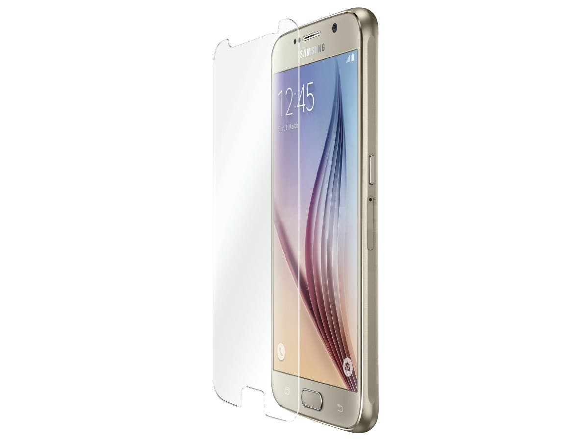 Tempered Flexible Glass Screen Protector for Samsung Galaxy S6