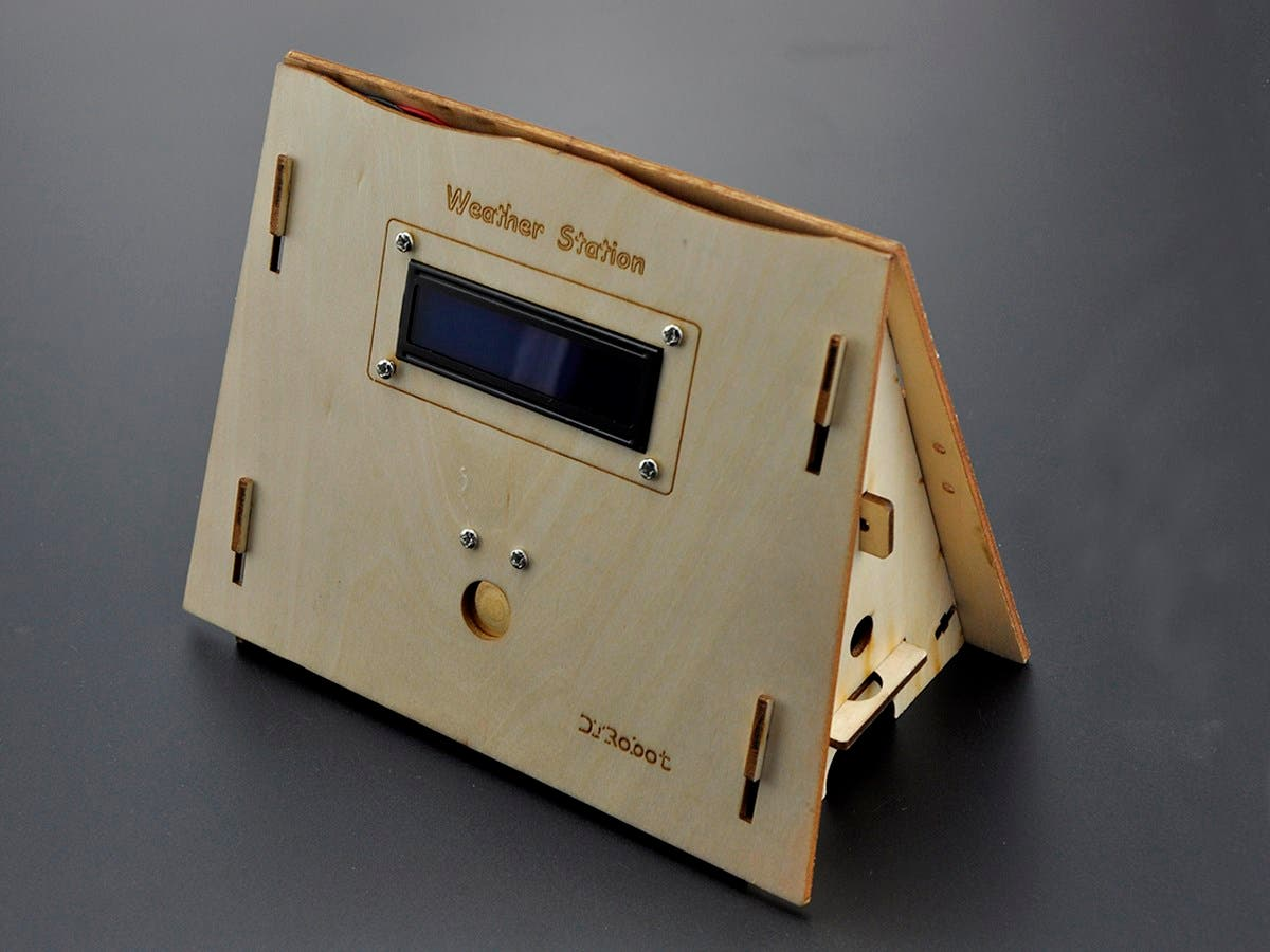 Weather Station Kit with Solar Panel, Advanced-Large-Image-1