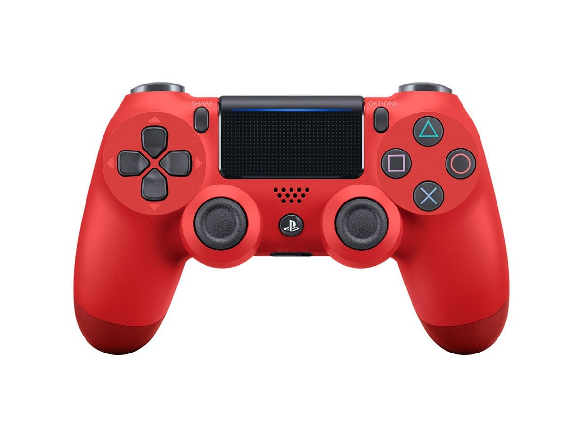 Sony DualShock 4 Wireless Controller for PlayStation 4 (PS4) - Magma Red