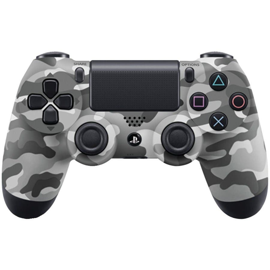 Sony DualShock 4 Wireless Controller for PlayStation 4 (PS4) 2016 Version - Urban Camo-Large-Image-1