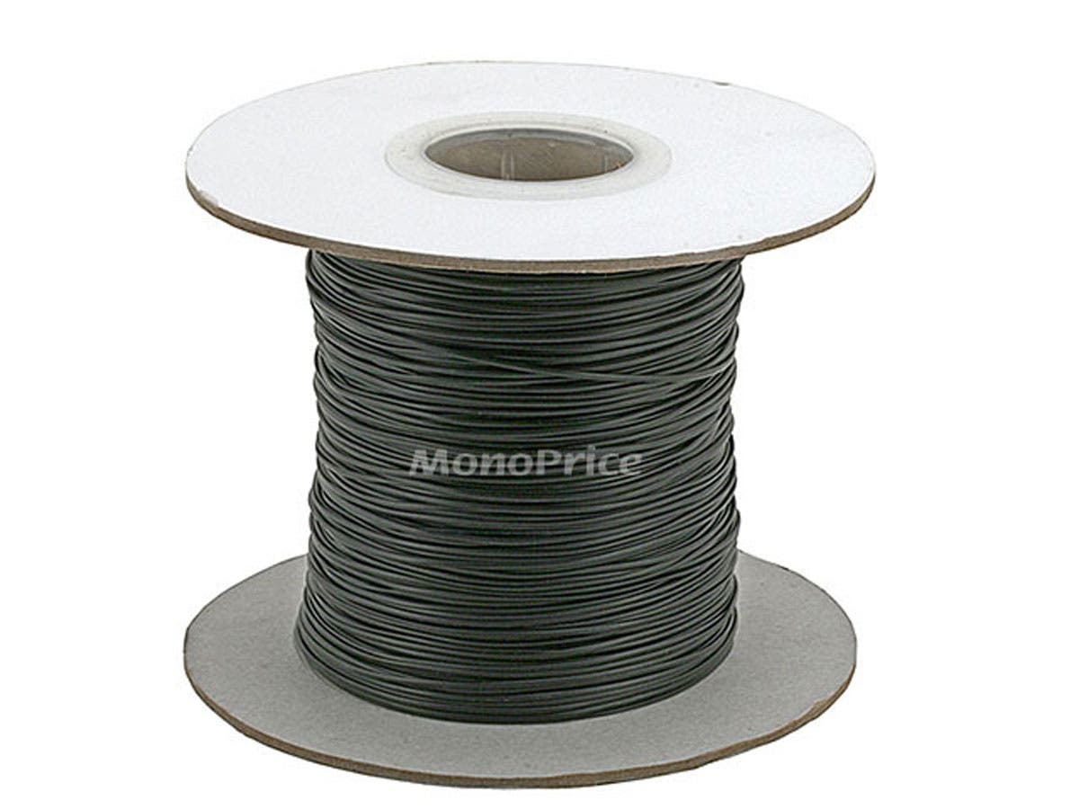 Monoprice Wire Cable Tie 290M/Reel - Black-Large-Image-1