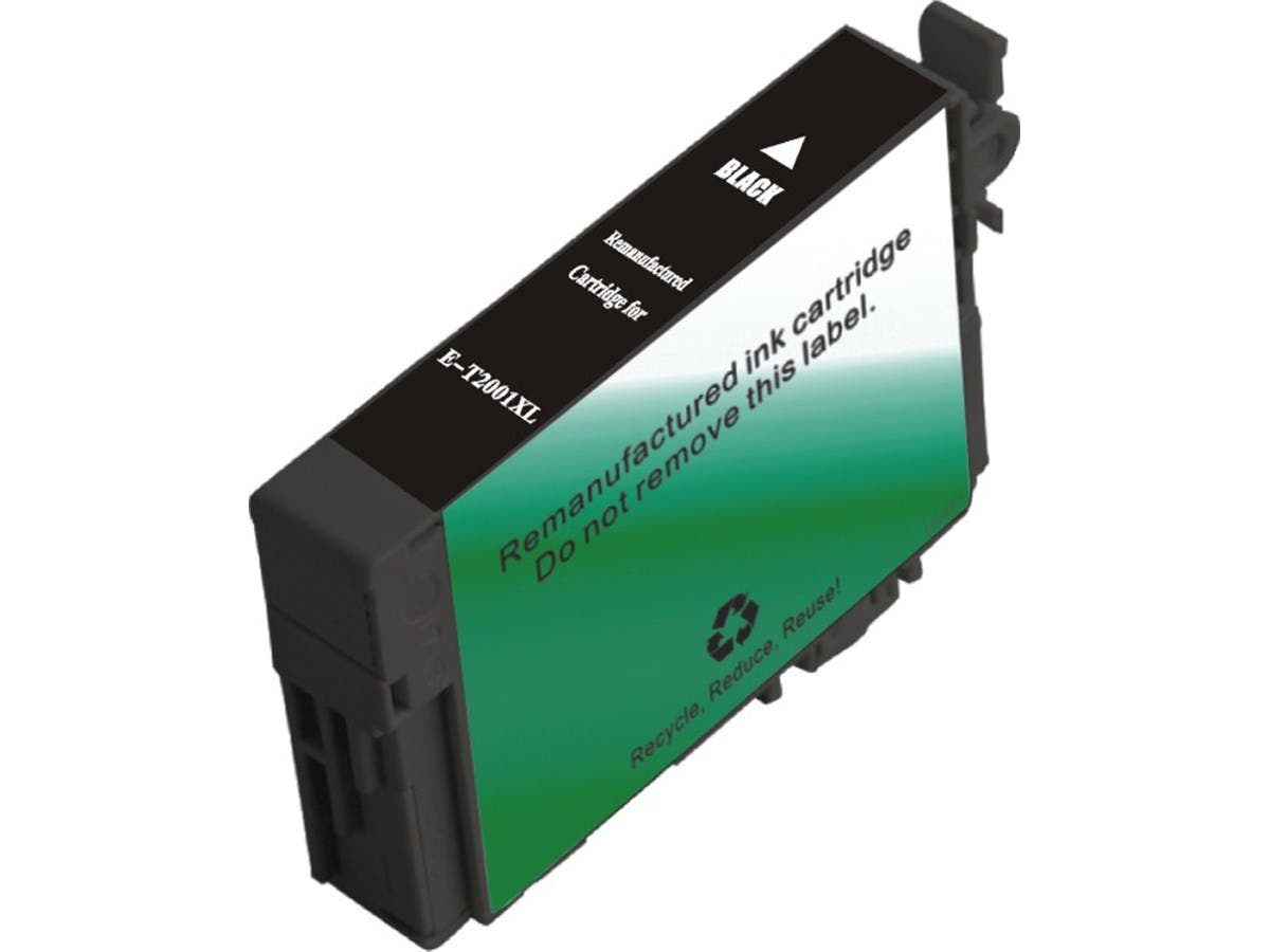 Monoprice Remanufactured Cartridge for Epson T200XL120 Inkjet- Black (T2001 High Yield)-Large-Image-1