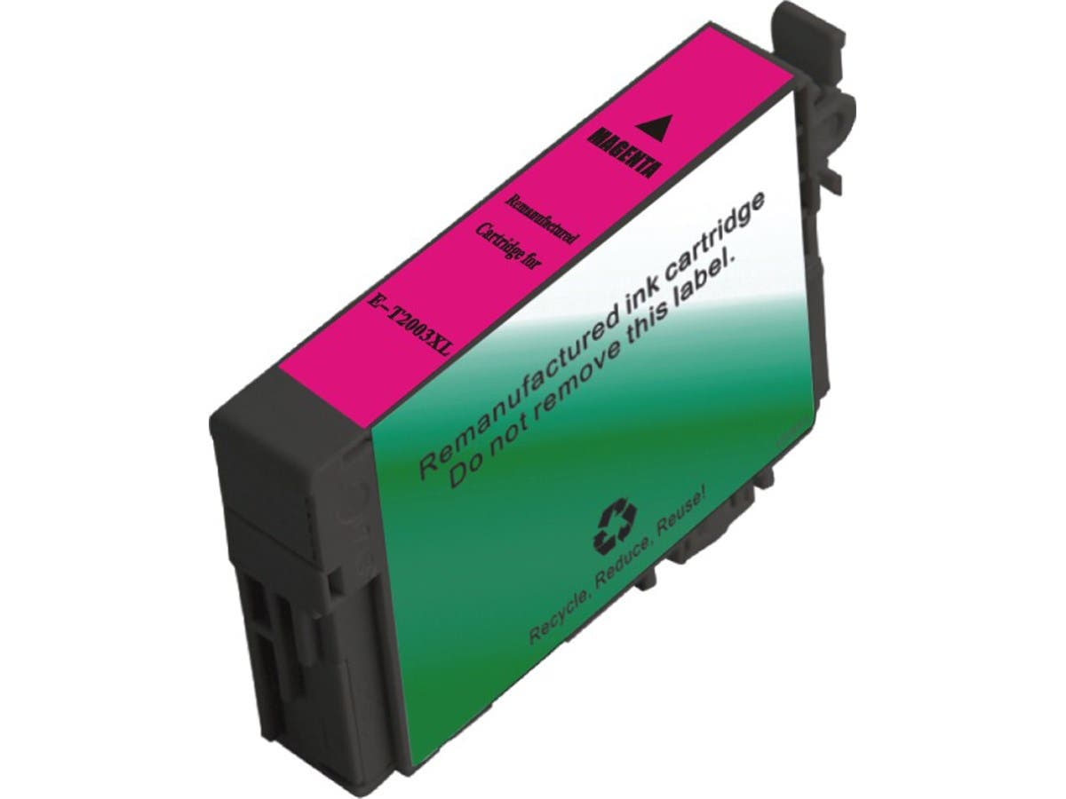 MPI Remanufactured Cartridge for Epson T200XL320 Inkjet- Magenta (T2003 High Yield)