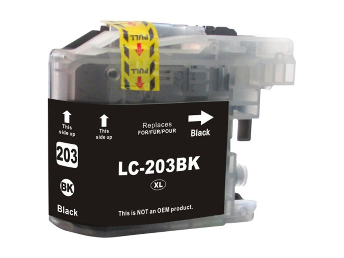 Monoprice Compatible Brother LC203 Inkjet- Black (High Yield)-Large-Image-1