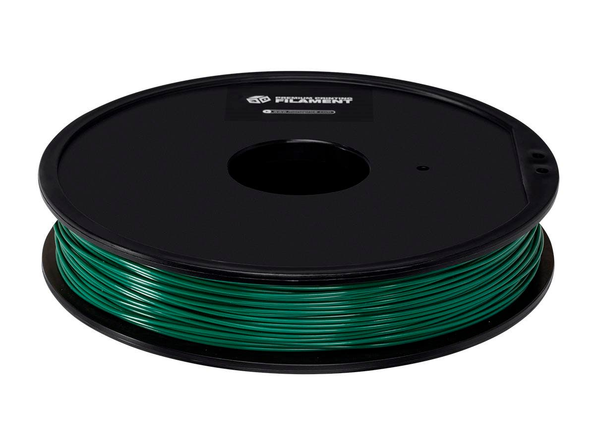 Premium 3D Printer Filament ABS 1.75MM, .5kg/Spool, Pine Green-Large-Image-1