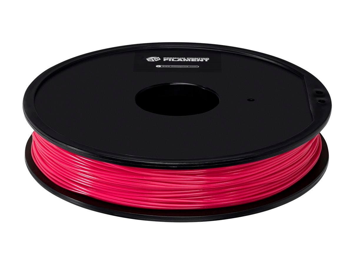 Monoprice Premium 3D Printer Filament ABS 1.75MM, .5kg/Spool, Magenta-Large-Image-1