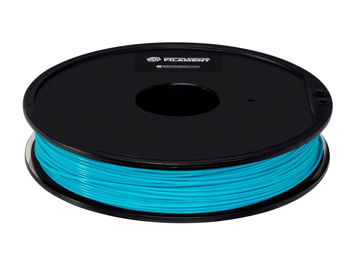 Premium 3D Printer Filament ABS 1.75MM, .5kg/Spool, Light Blue-Large-Image-1