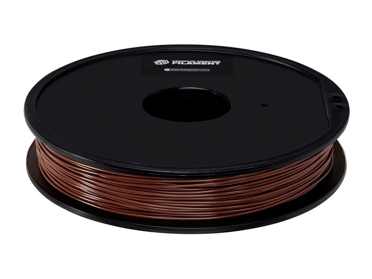 Premium 3D Printer Filament ABS 1.75MM, .5kg/Spool Brown