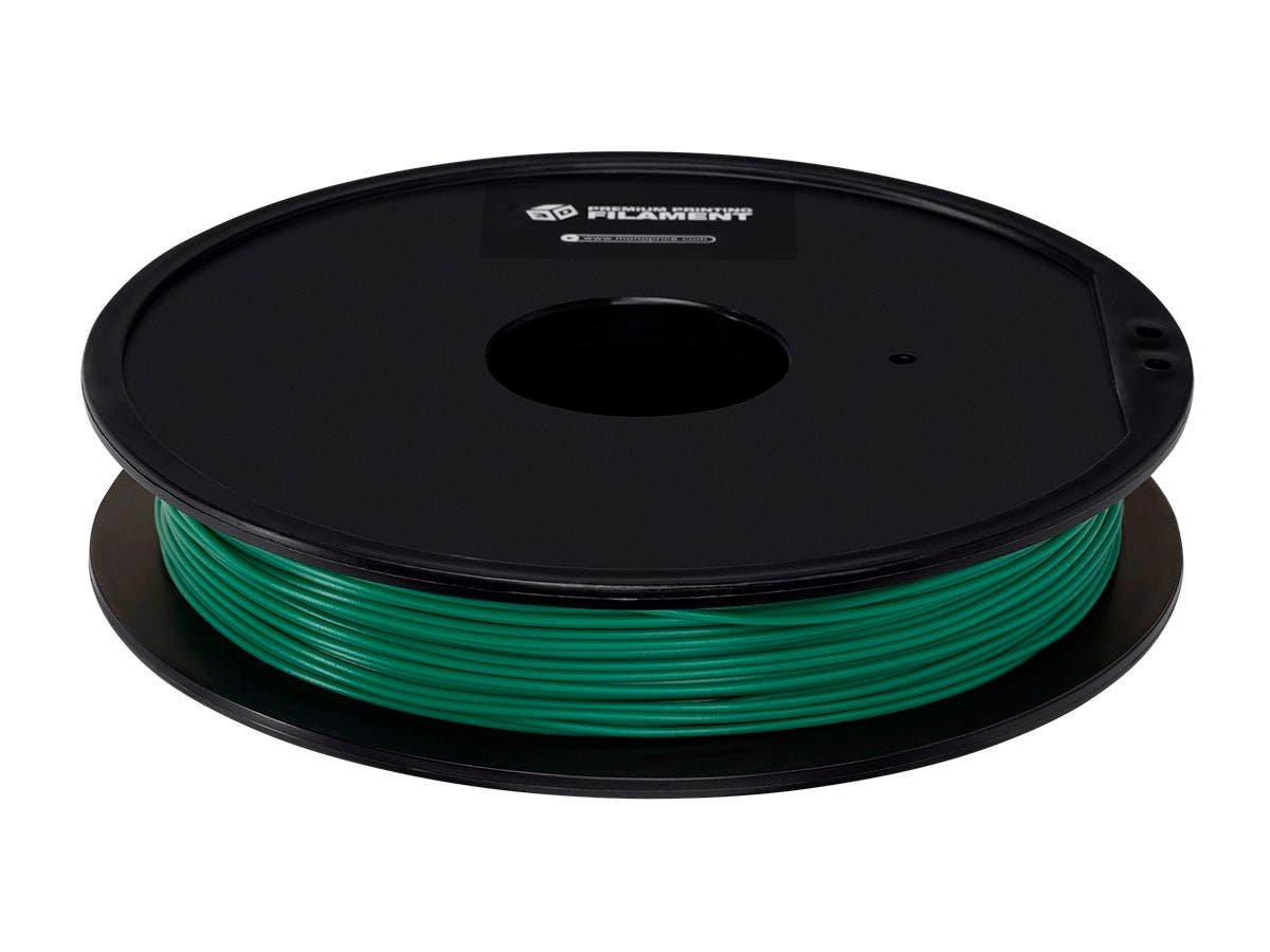 Monoprice Premium 3D Printer Filament PLA 1.75mm 0.5kg/spool, Pine Green-Large-Image-1