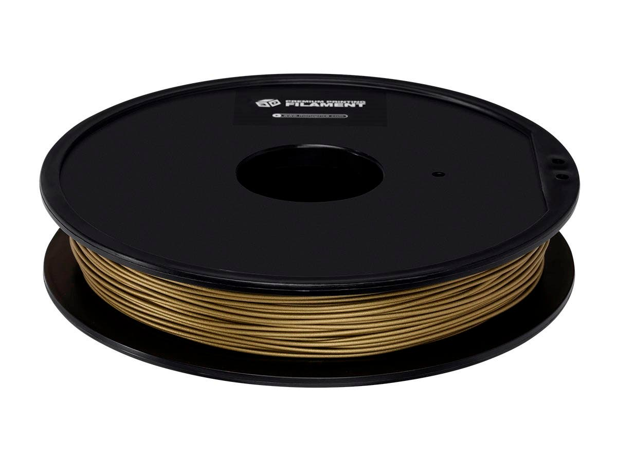 Monoprice Premium 3D Printer Filament PLA 1.75mm 0.5kg/spool, Bronze-Large-Image-1