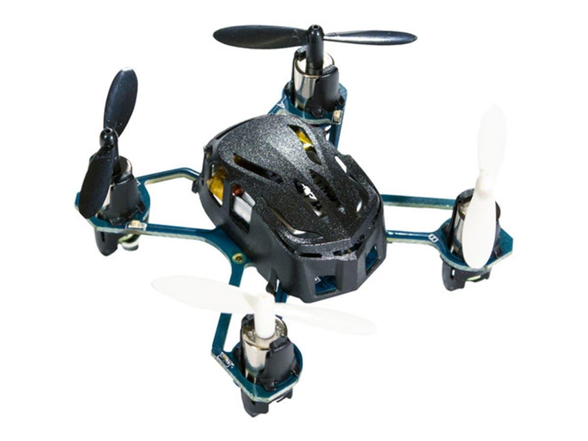Hubsan Q4 H111 Nano Quadcopter Drone, Black-Large-Image-1