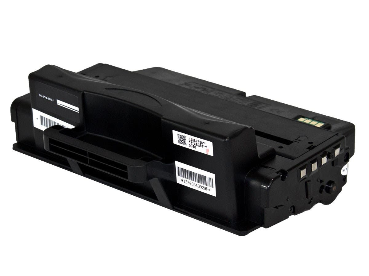 Monoprice Compatible Dell B2375 High Yield Toner - Black-Large-Image-1