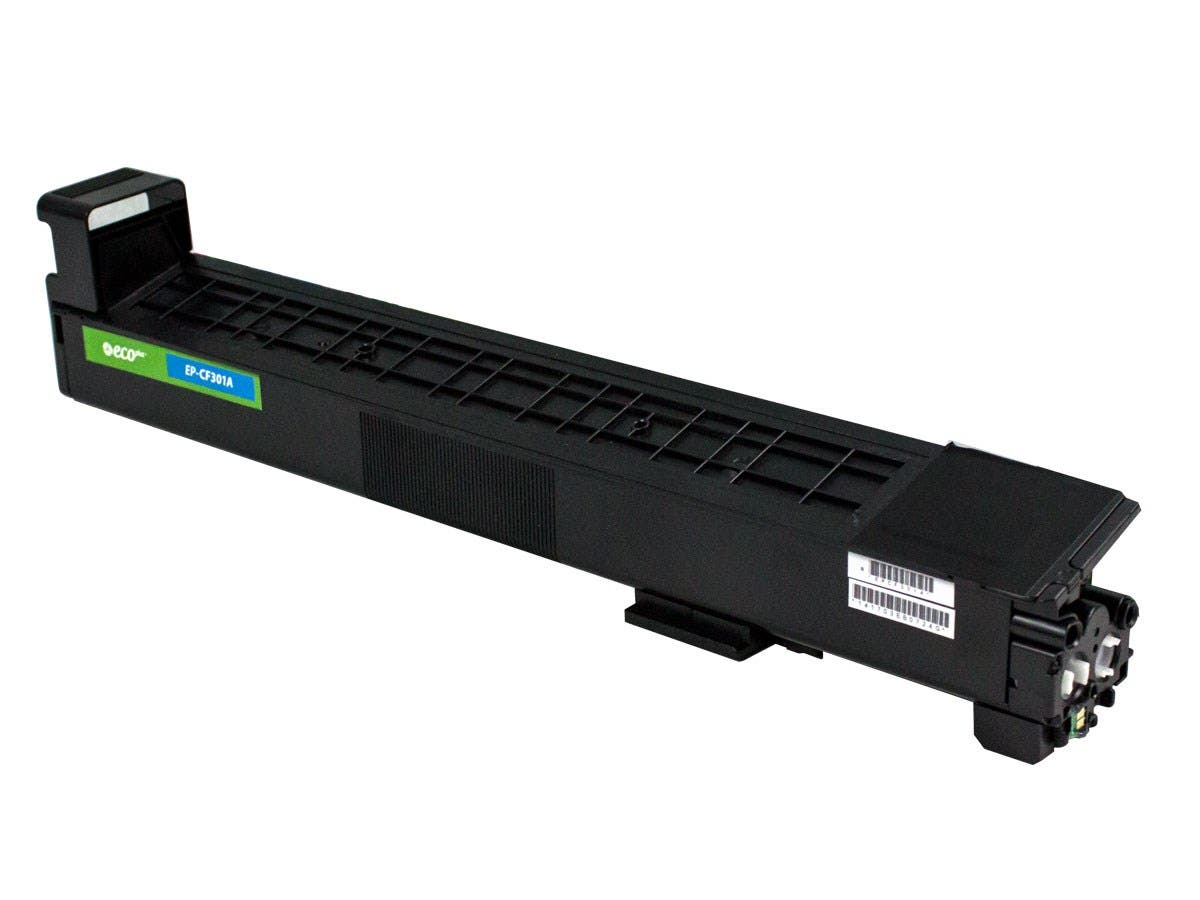 Monoprice Remanufactured HP CF301A Toner - Cyan-Large-Image-1