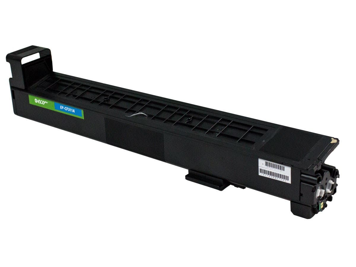 Monoprice Remanufactured HP CF311A Toner - Cyan-Large-Image-1
