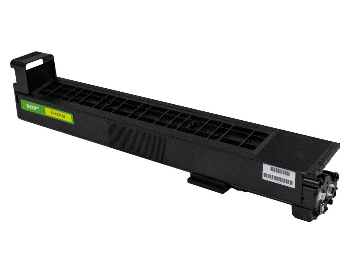 Monoprice Remanufactured HP CF312A Toner - Yellow-Large-Image-1