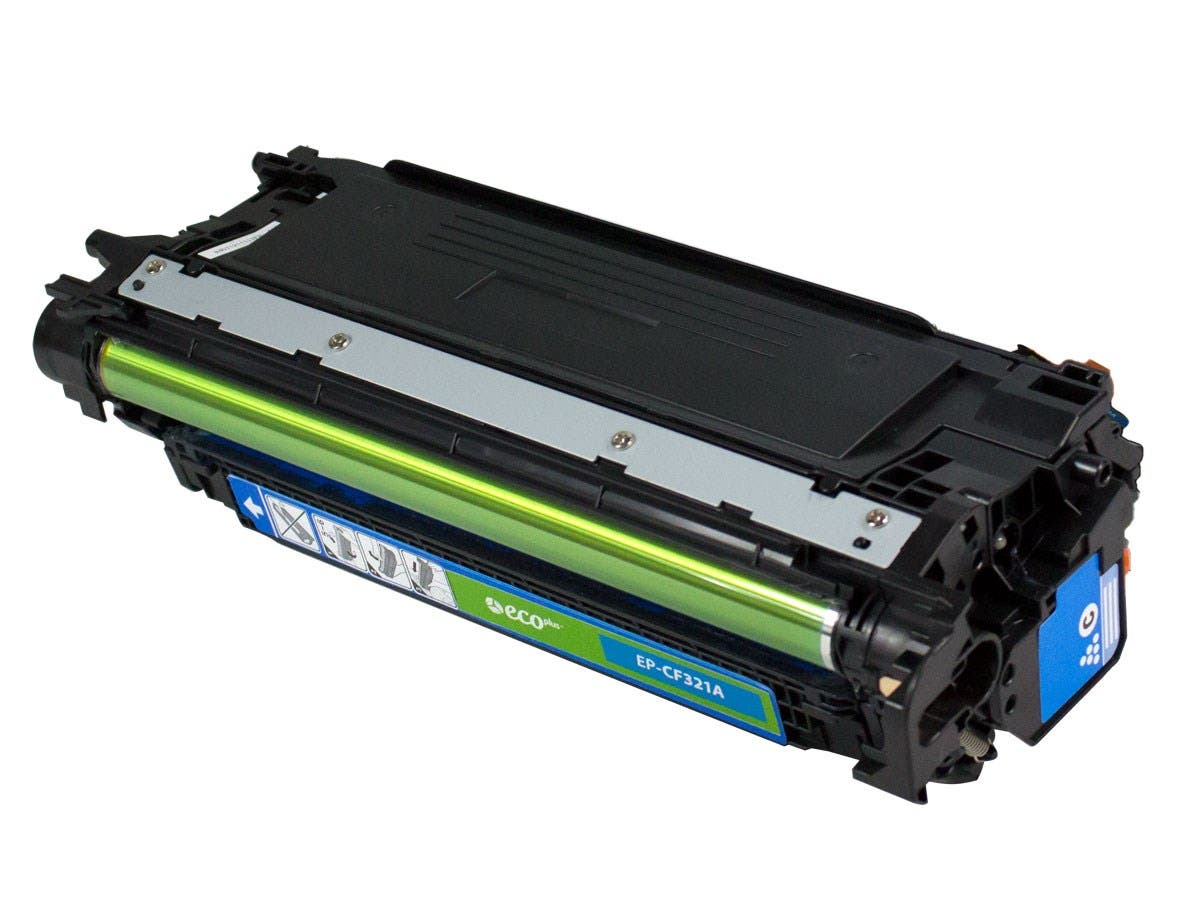 Remanufactured HP CF321A Toner - Cyan