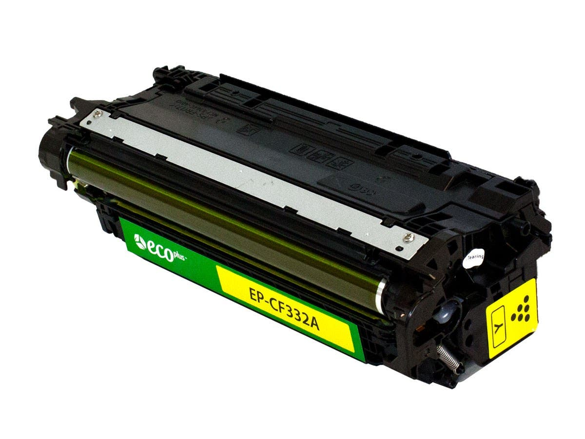 Monoprice Remanufactured HP CF322A Toner - Yellow-Large-Image-1