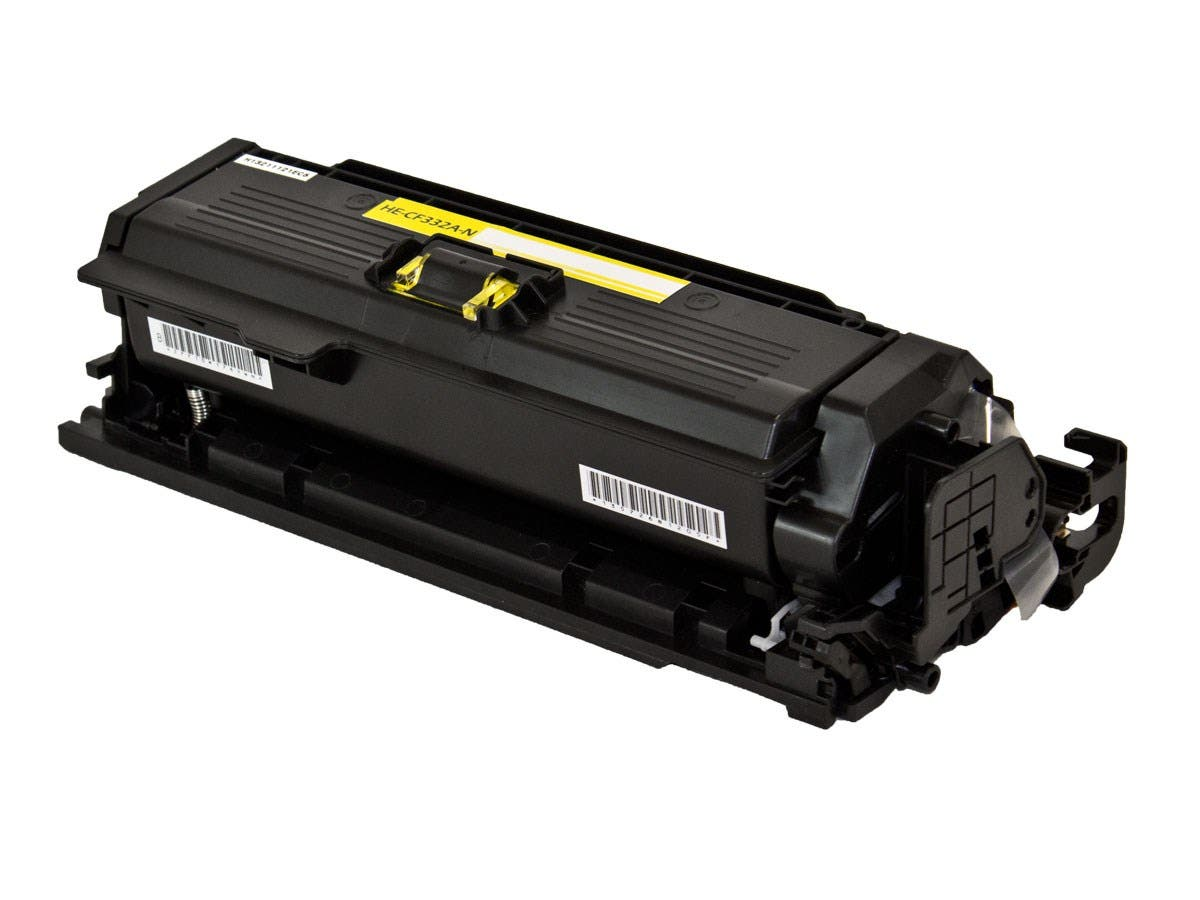 Monoprice Compatible HP CF332A Toner - Yellow-Large-Image-1