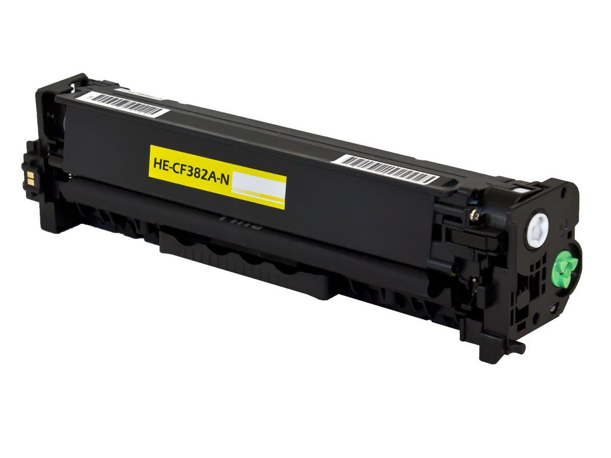 Monoprice Compatible HP CF382A Toner - Yellow-Large-Image-1