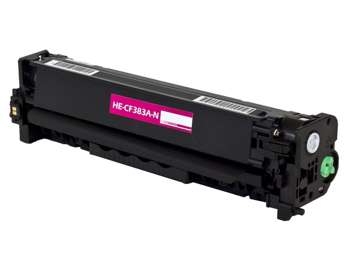Monoprice Compatible HP CF383A Toner - Magenta-Large-Image-1