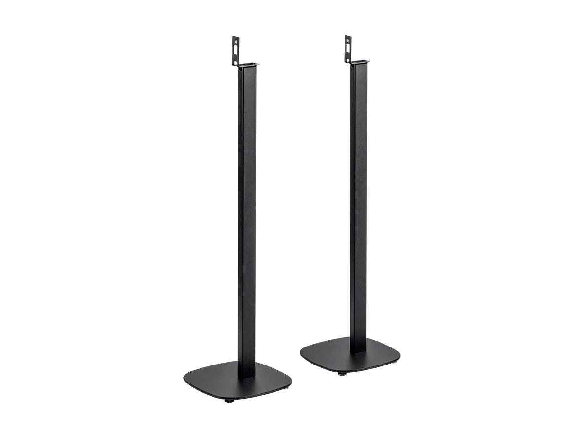 Monoprice Floor Speaker Stands for Sonos PLAY:1 Black (Pair)-Large-Image-1