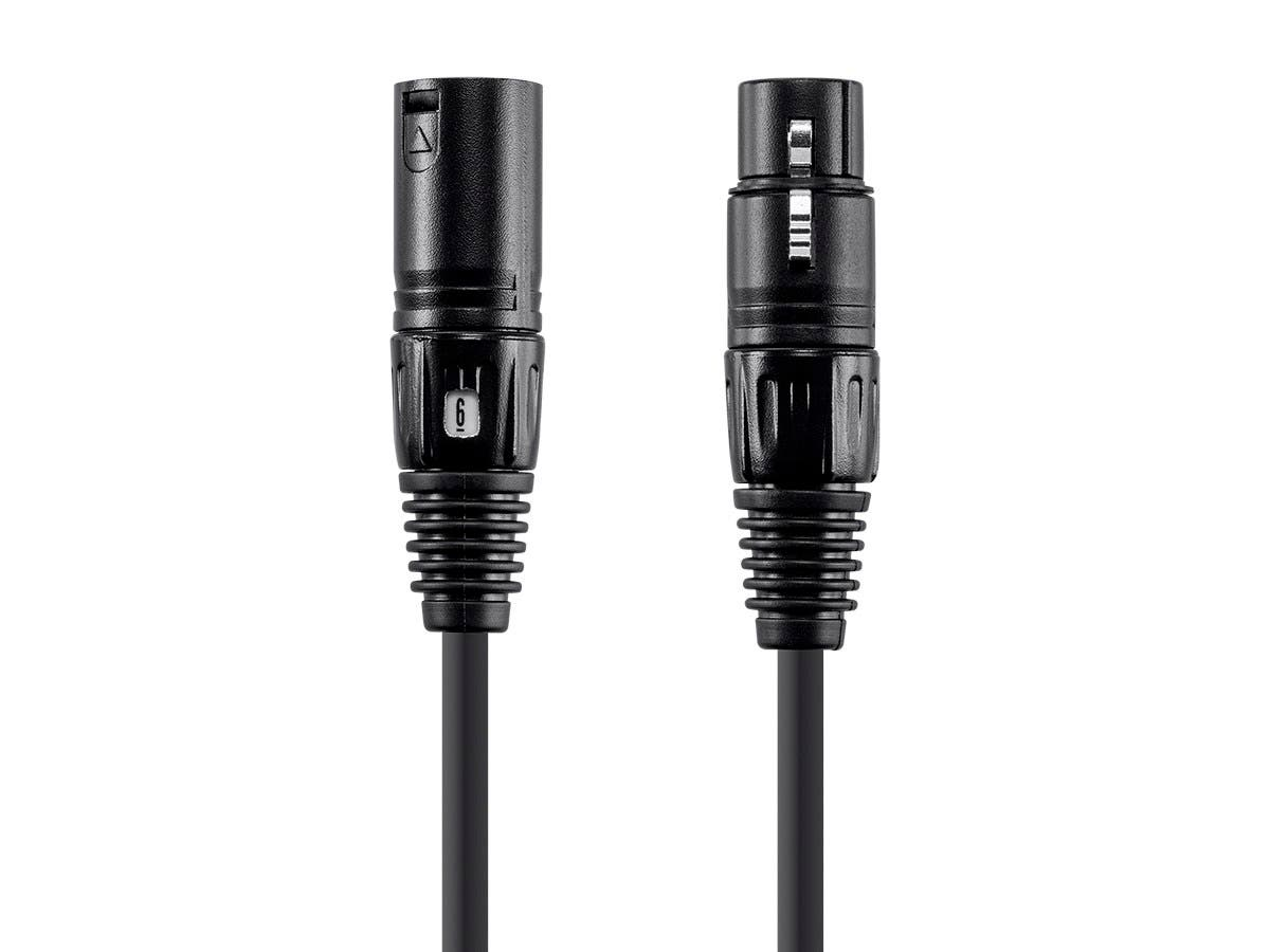Monoprice Choice Series XLR Microphone cable with Quick ID, 15ft-Large-Image-1