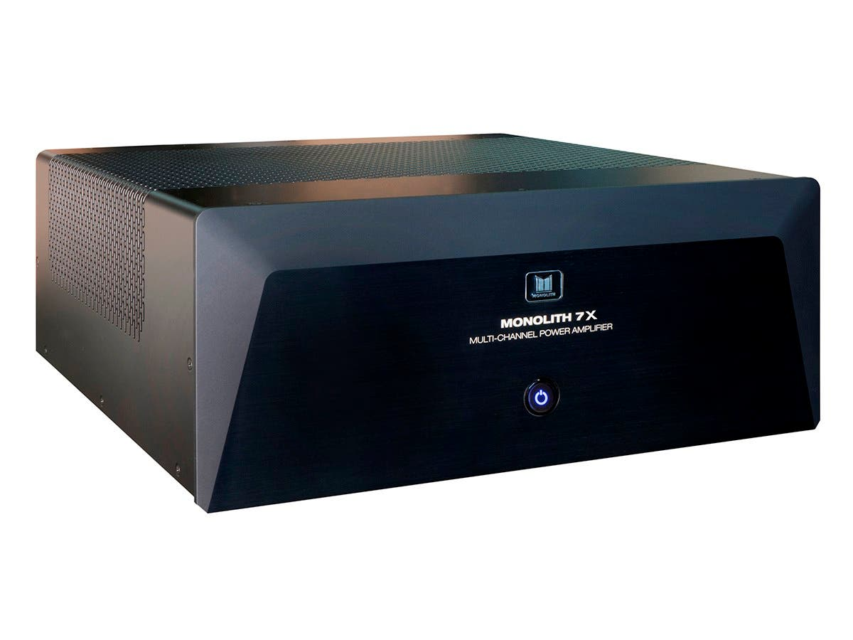 monolith by monoprice 7x200 watts per channel multi channel home theater power amplifier with. Black Bedroom Furniture Sets. Home Design Ideas