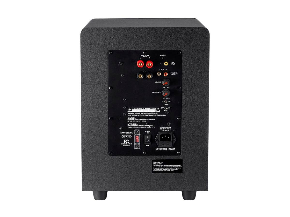 Monoprice Premium Select 8 Inch 200 Watt Subwoofer Defunc Plus Hybrid Corded Earbud Small Image 4