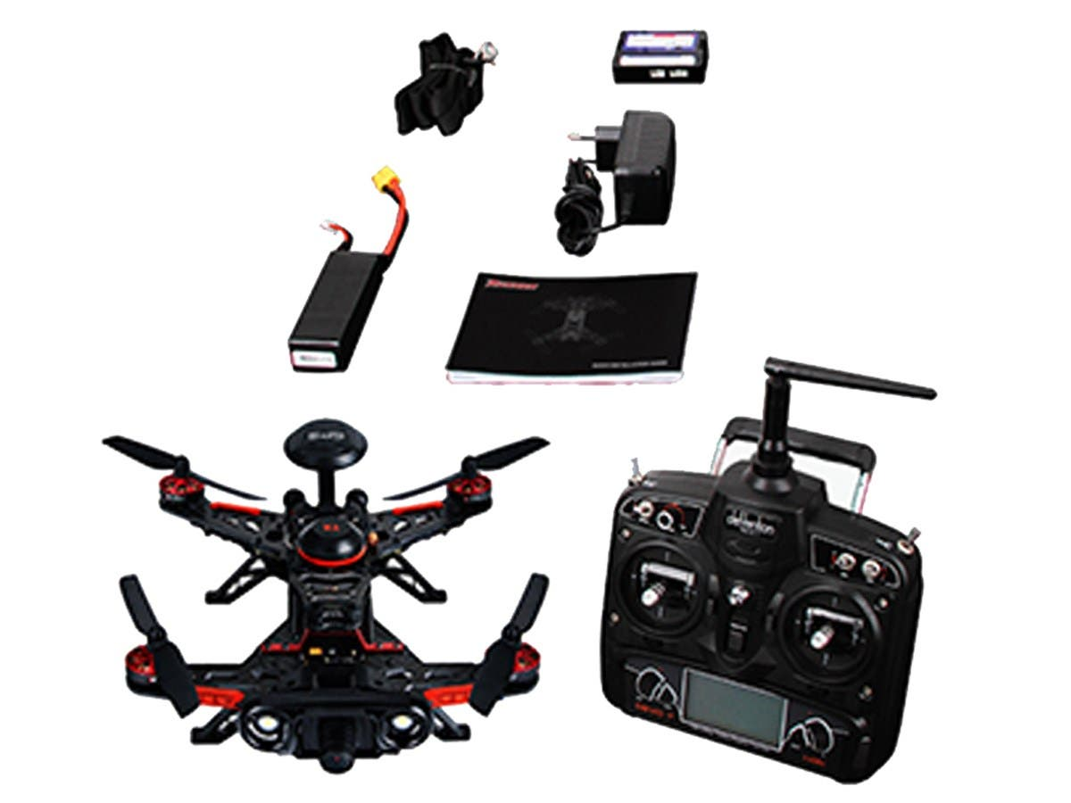 Walkera GPS 800TVL Advance Runner 250 Quadcopter Drone, FPV Ready to Fly Kit -(DEVO 7,100mW, mode 2,OSD, TX5816)