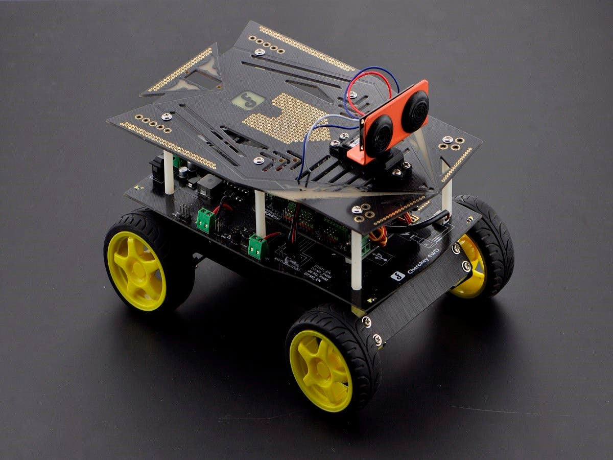 Cherokey 4WD Basic Kit with iOS Control