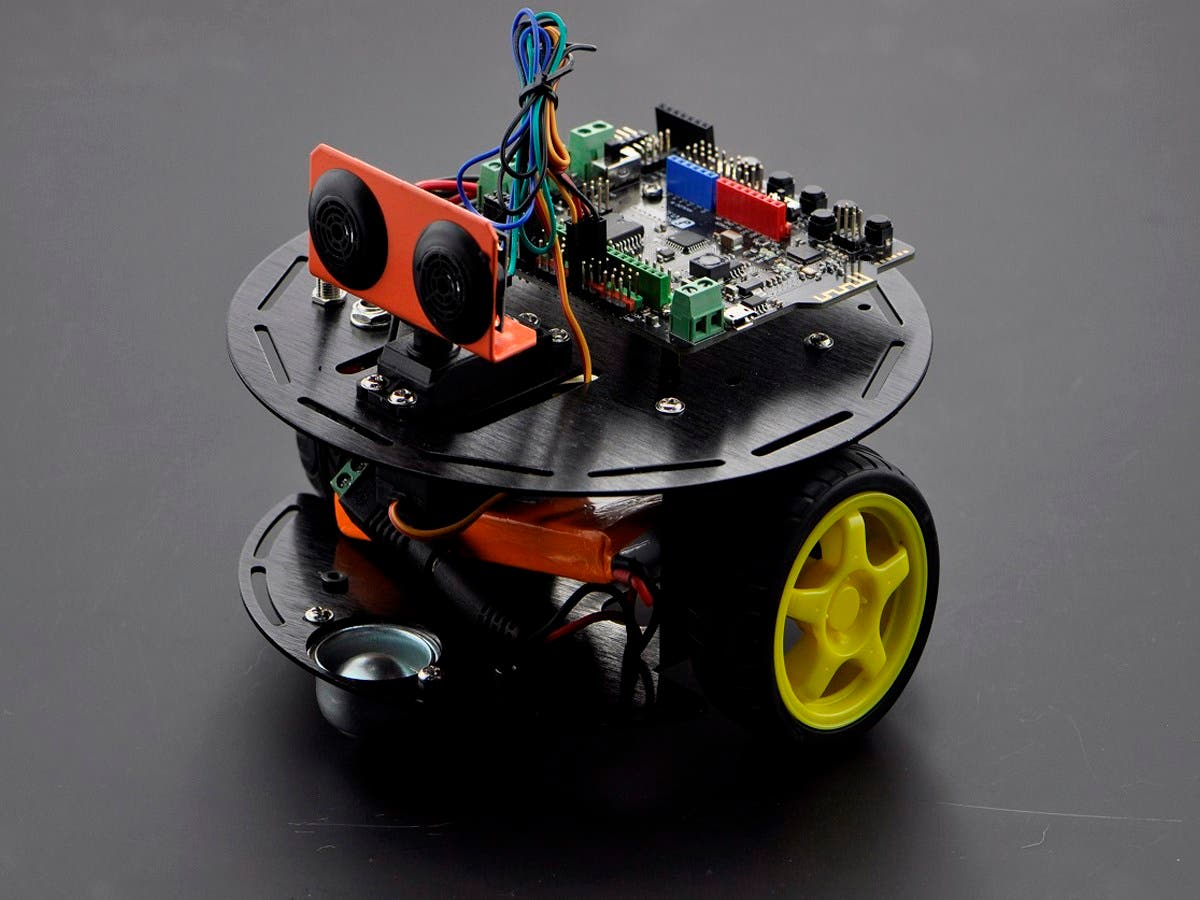 Turtle 2WD Basic Kit with iOS Control-Large-Image-1