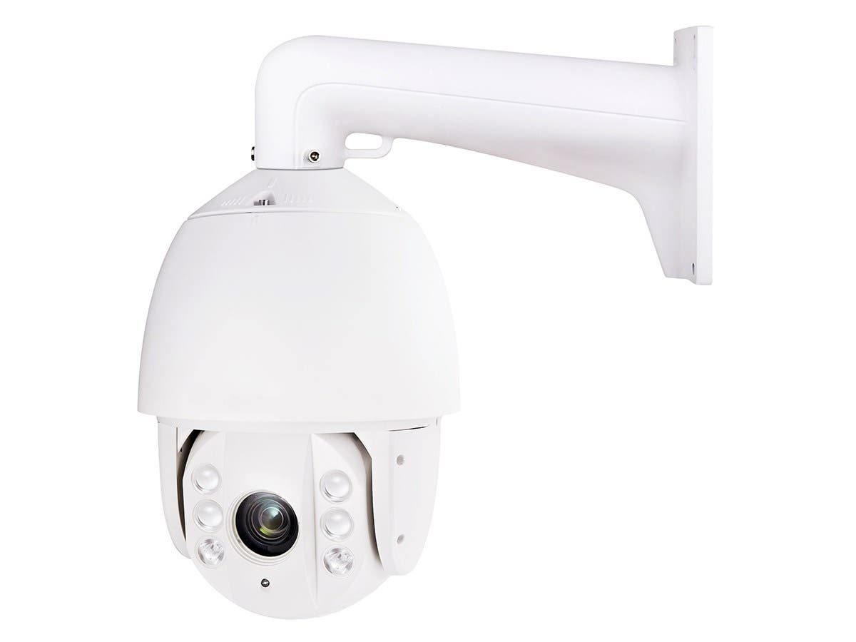 "IP66 Rated 23X Optical Zoom (4-92mm) TVI IR PTZ Camera (1.3MP, 1/3"" Sensor, 6 Large Smart IR LEDs, up to 394ft)"