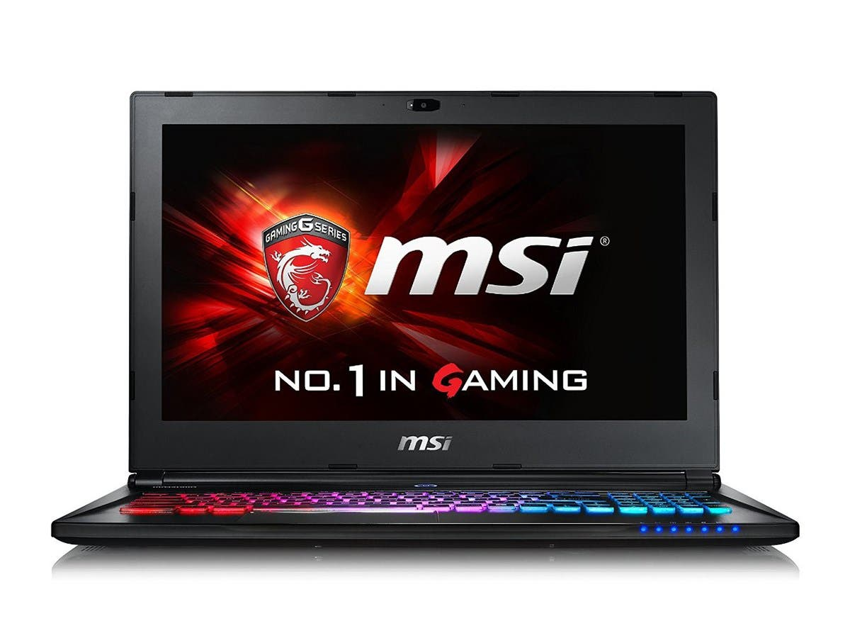 "MSI GS Series GS60 Ghost Pro-002 15.6"" Gaming Laptop 6th Generation Intel Core i7 6700HQ (2.60 GHz) 16 GB Memory 1 TB HDD 128 GB SSD NVIDIA GeForce GTX 970M 3 GB GDDR5 Windows 10 Home-Large-Image-1"