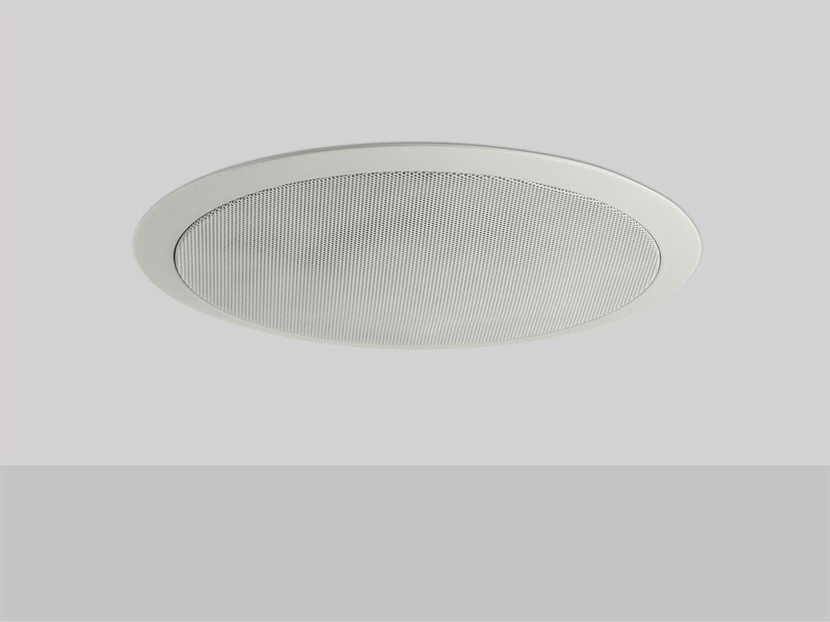 Mono Commercial Audio 50w 6 5 Inch Coax Ceiling Speaker With Abs Back Can Grill