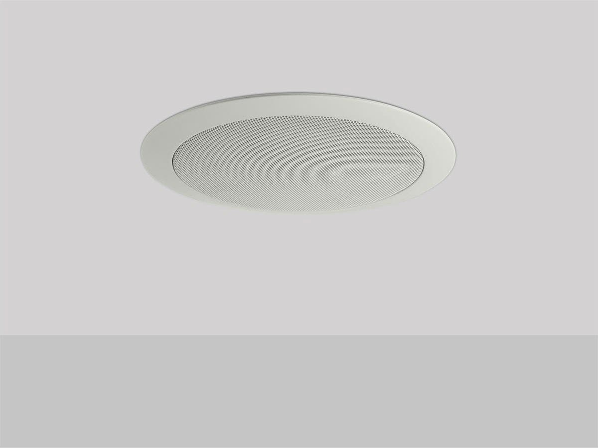 Commercial Audio 20W 4 inch Coax Ceiling Speaker with ABS Back Can & Grill 70V (NO LOGO)