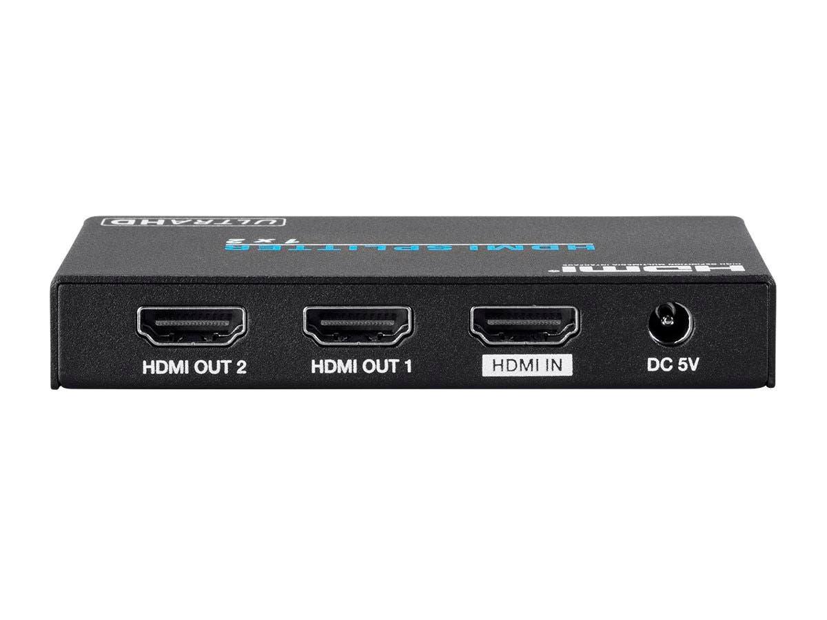 Blackbird 4k Pro 1x2 Hdmi Splitter Hdr 18gbps 4k 60hz