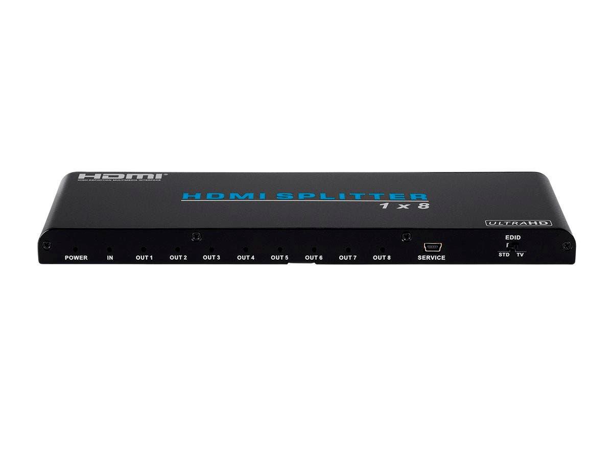 Blackbird 4K Pro 1x8 HDMI Splitter HDR 18Gbps 4K@60Hz YCbCr 4:4:4