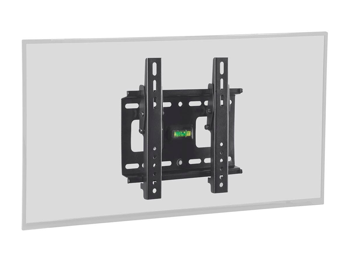 Monoprice Stable Series Tilt TV Wall Mount Bracket - For TVs 32in to 42in, Max Weight 80lbs, VESA Patterns Up to 200x200, UL Certified-Large-Image-1