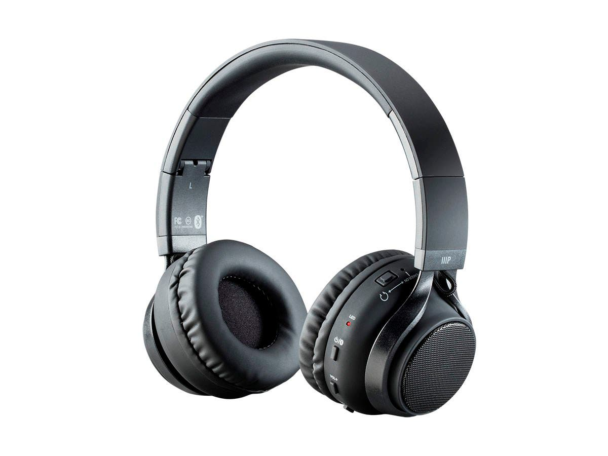 Monoprice 2-in-1 Bluetooth Wireless Headphones with External Speakers-Large-Image-1