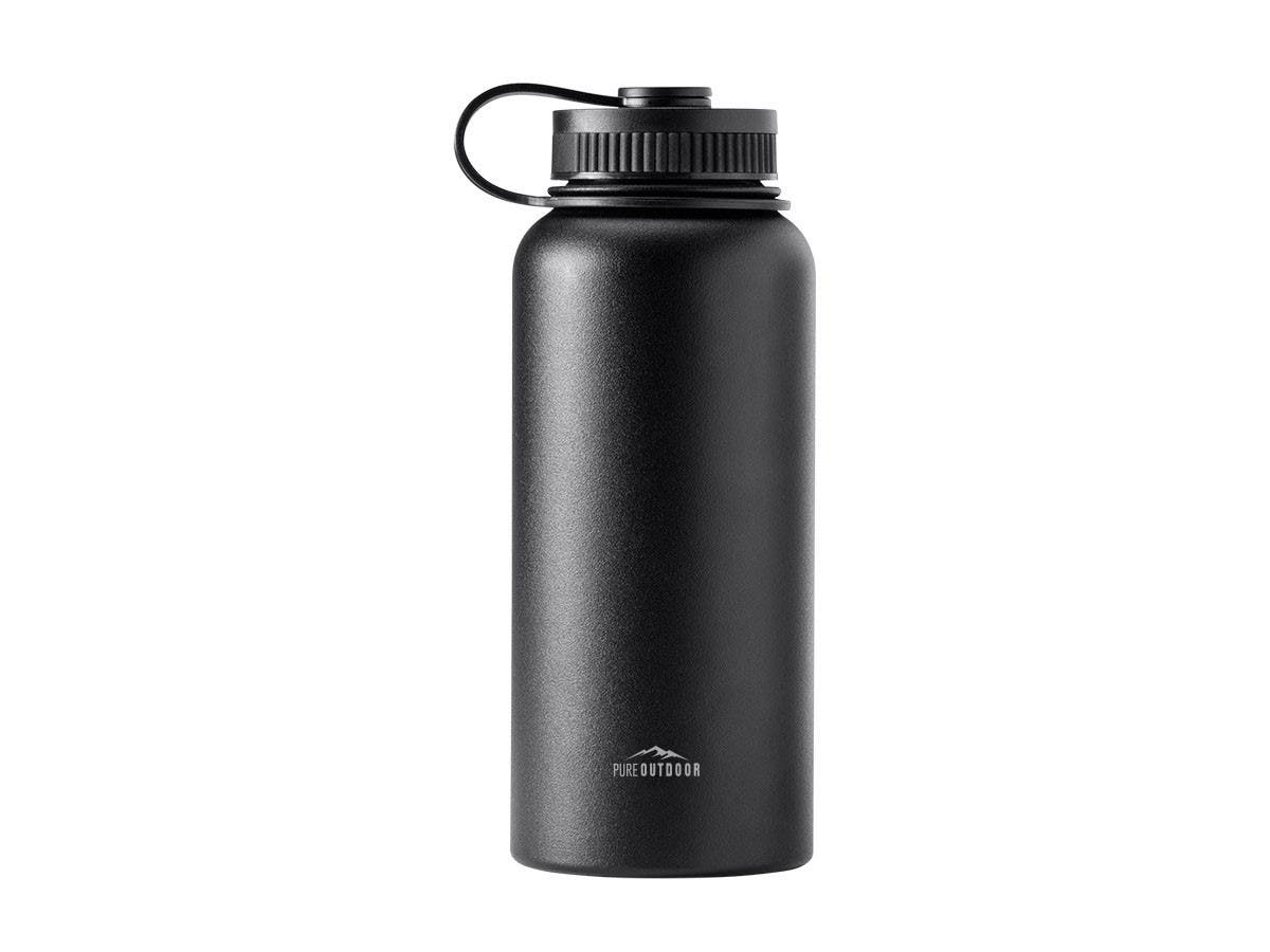 Pure Outdoor Vacuum Sealed 32 fl. oz. Wide-Mouth Water Bottle-Large-Image-1
