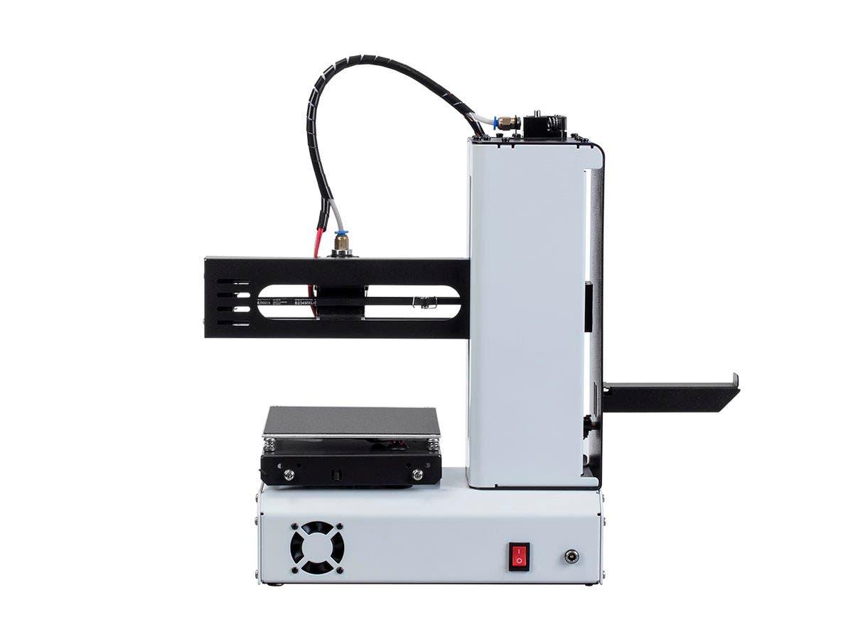 mp select mini 3d printer v2 white   monoprice