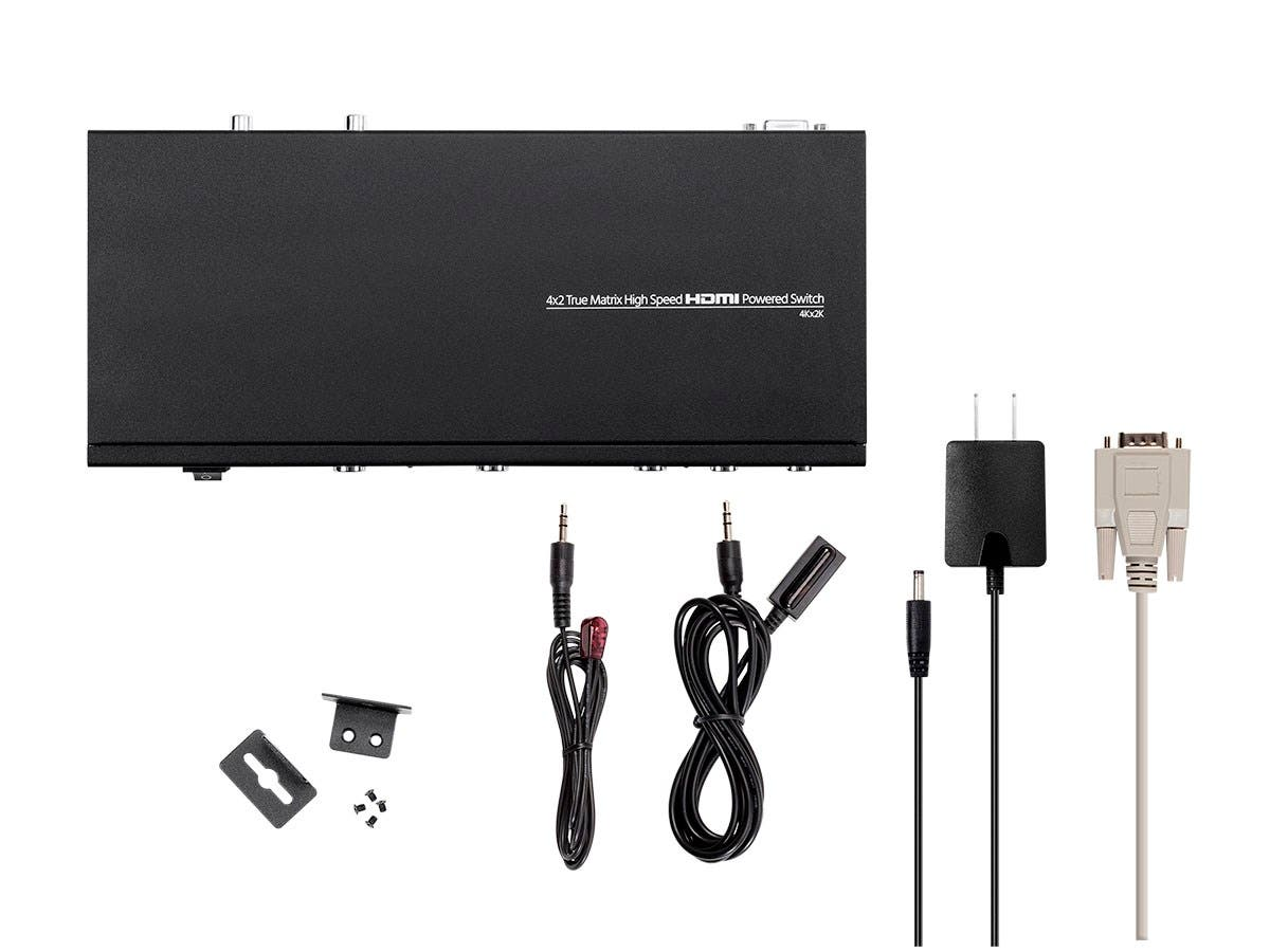 Monoprice Blackbird 4K Pro 4x2 True Matrix High Speed HDMI