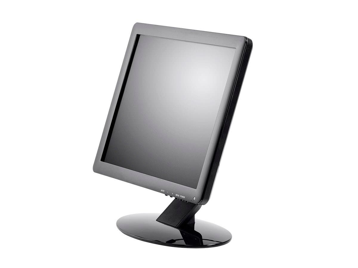 Monoprice 15in 5-Wire Resistive LCD Touch Screen Monitor (4:3)-Large-Image-1
